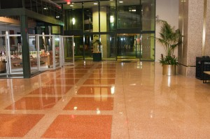 Hotel Lobby - Tidy provides Janitorial Services